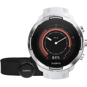 Suunto 9 with HR Belt bianco